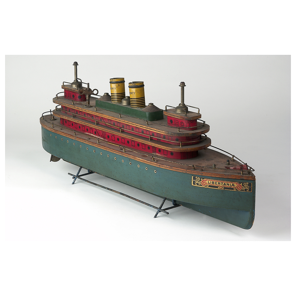 Wind-Up Toy Ship